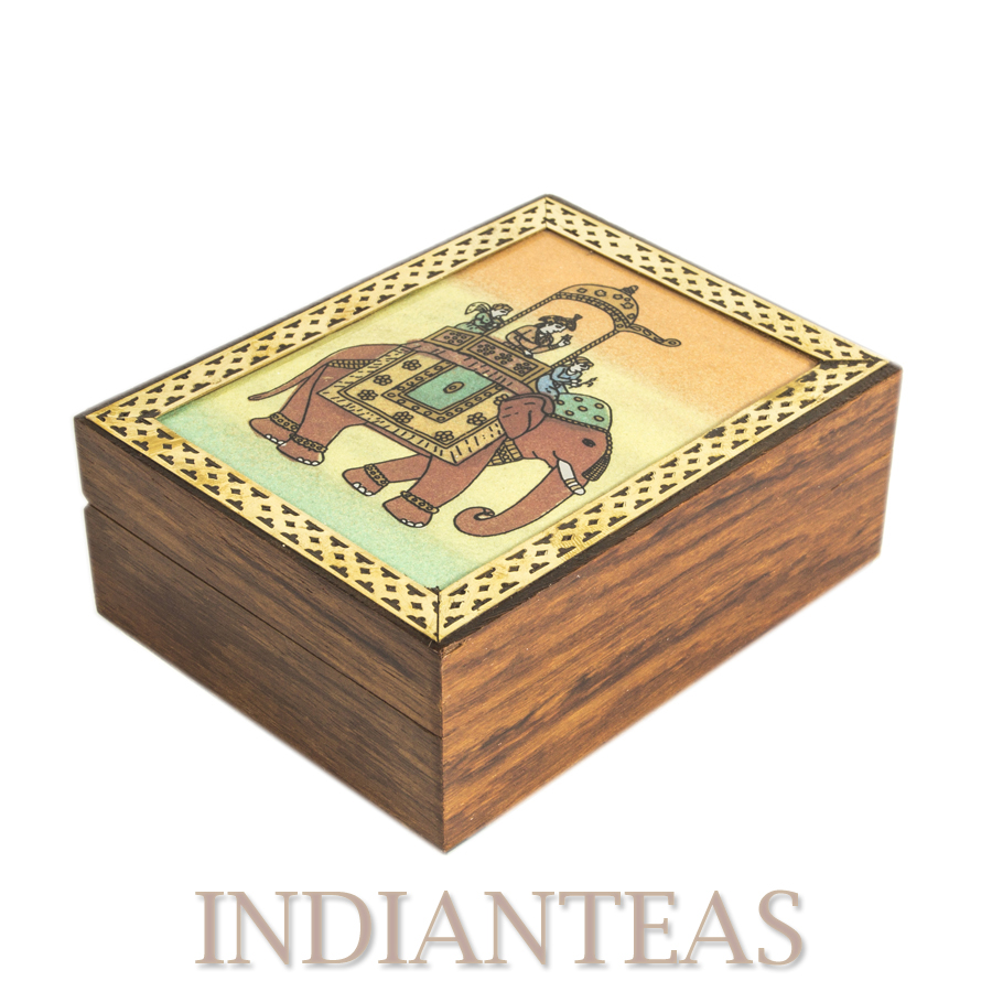 Gem Stone Tea Caddy Darjeeling